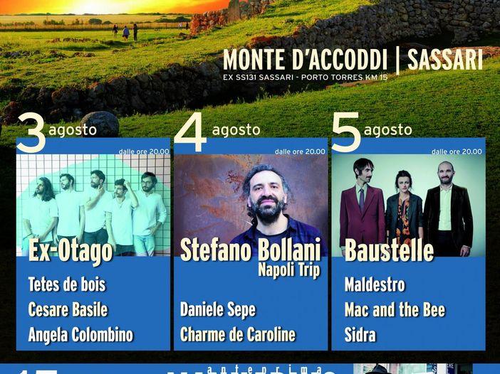 Abbabula Festival, dal 3 al 5 agosto con Mannarino, Stefano Bollani, Baustelle e altri
