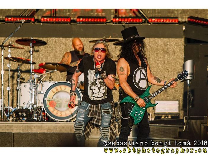 Guns N' Roses: si chiude alle Hawaii il 'Not in This Lifetime...' tour - SCALETTA/VIDEO