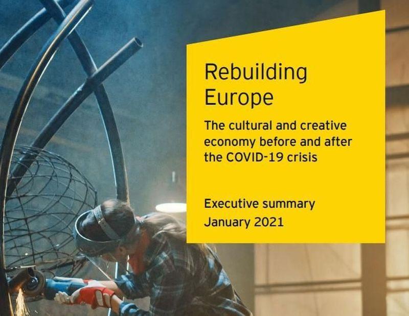 L'industria creativa UE oltre il Covid: presentato lo studio 'Rebuilding Europe'