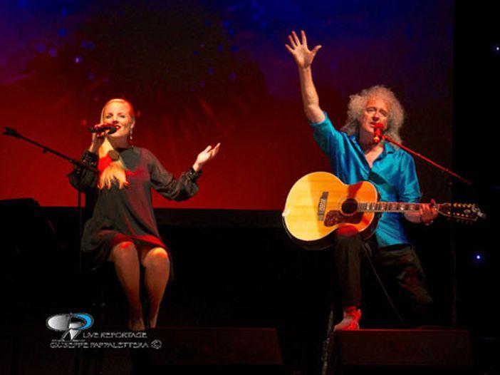 Brian May, tour in Italia con Kerry Ellis: 'Adam Lambert e i Queen? Non so quanto durerà' VIDEOINTERVISTA