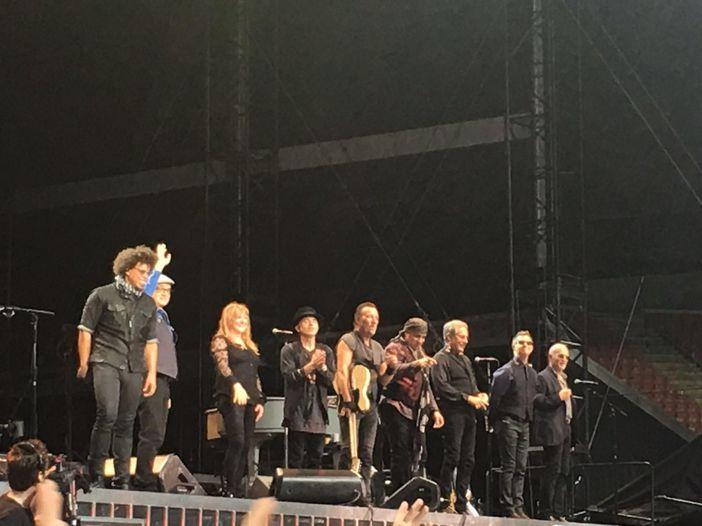 Bruce Springsteen, il 'The river tour 2016' sbarca in Italia: la diretta della prima data allo stadio San Siro di Milano - FOTO