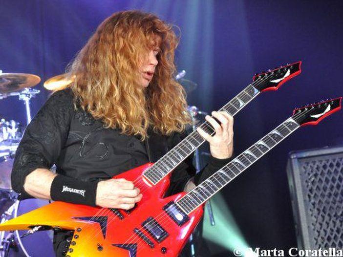 Megadeth: la title track di 'Super collider' su iTunes