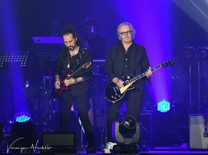 Raf e Umberto Tozzi, finale del tour all'Arena di Verona