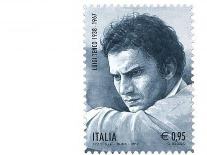 Luigi Tenco: stampato un francobollo celebrativo per ricordare i 50 anni dalla sua morte