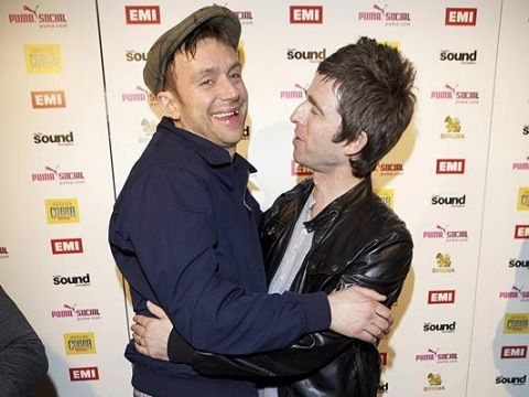 Damon Albarn and Noel Gallagher bury the hatchet