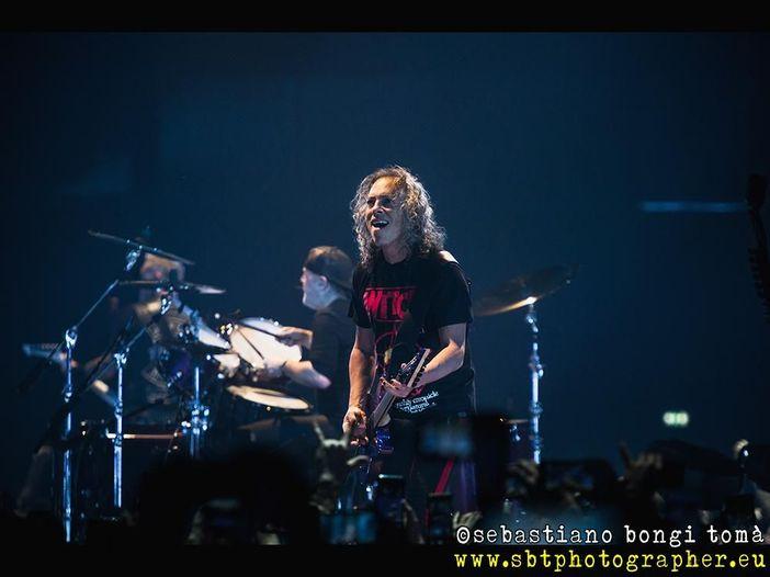 Metallica, da Kirk Hammett qualche aggiornamento sul nuovo album: 'Ho una tonnellata di materiale'