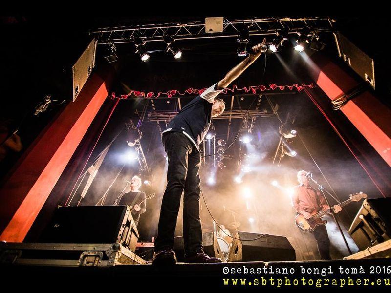 14 maggio 2016 - The Cage Theatre - Livorno - Sham 69 in concerto