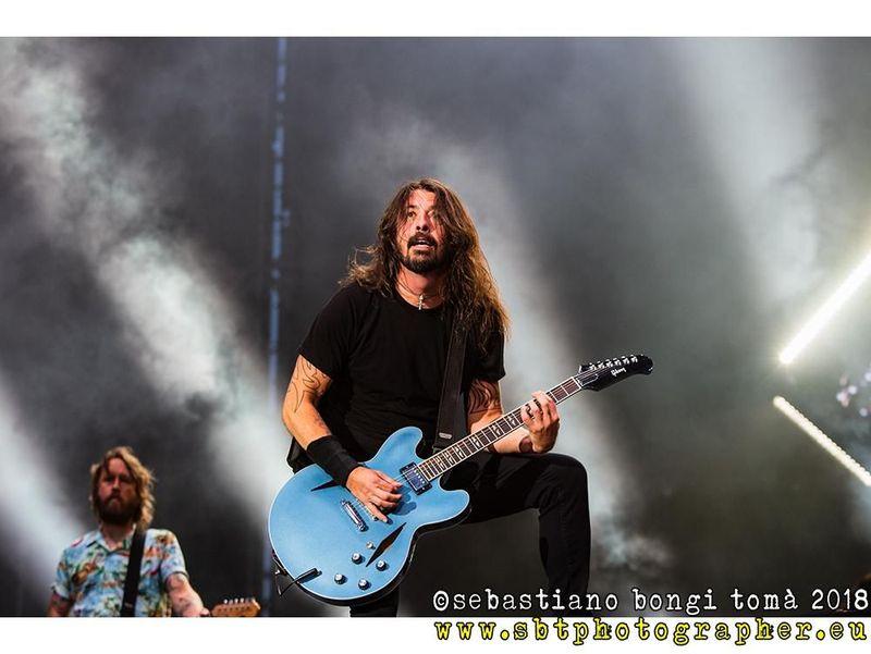 La reazione di Dave Grohl all'ingresso dei Foo Fighters nella Rock and Roll Hall of Fame