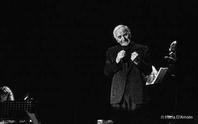1 luglio 2014 - Foro Italico - Roma - Charles Aznavour in concerto