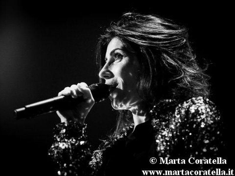 15 dicembre 2014 - PalaLottomatica - Roma - Giorgia in concerto