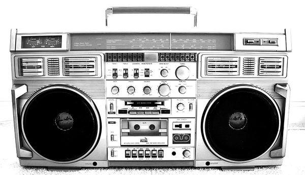 Epica dell'Hip Hop: il boombox o ghetto blaster che dir si voglia