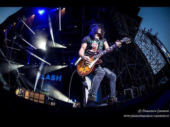 Slash: 'Un biopic sui Guns N' Roses? Non credo sia possibile'