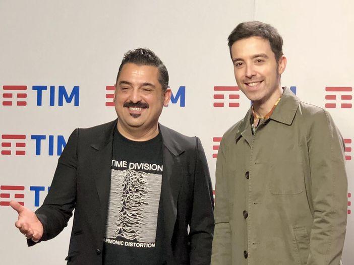 Sanremo 2018, Diodato e Roy Paci in sala stampa