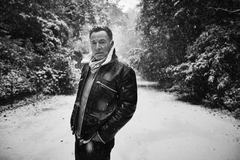 Rick Rubin intervista Bruce Springsteen. Spettacolo.