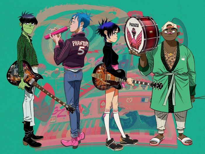 Gorillaz, si chiude il ciclo di 'Song Machine': ecco il video di 'The Lost Chord'