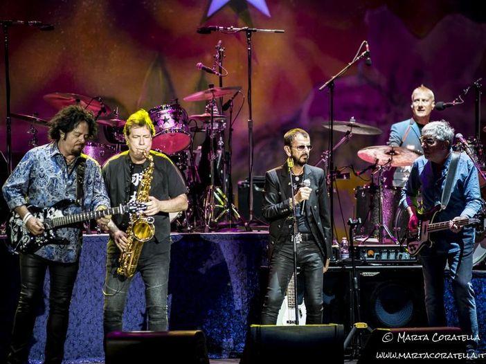 La grande festa rock di Ringo Starr a Roma (with a little help from his friends)
