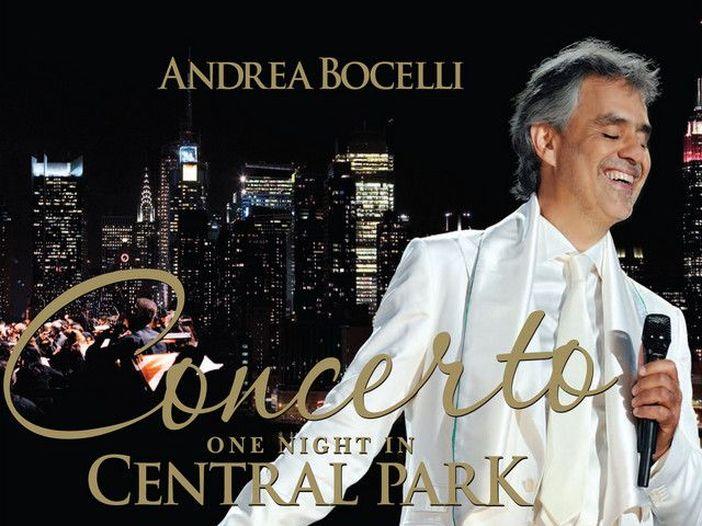 """Andrea Bocelli, esce """"One Night in Central Park - 10th anniversary edition"""""""