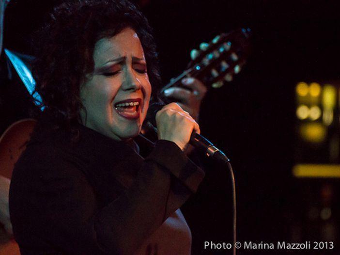 Sanremo 2014: Antonella Ruggiero in sala stampa