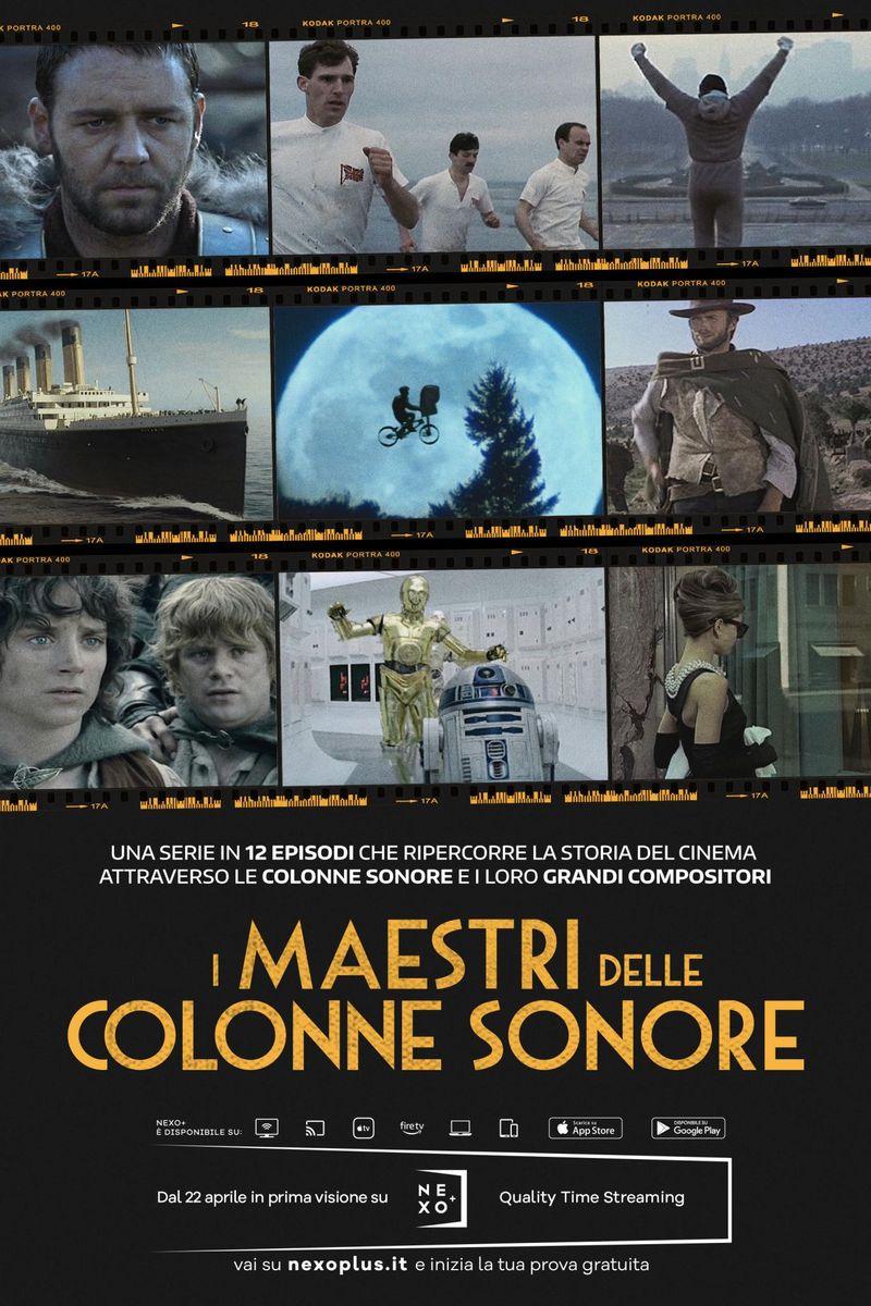In attesa della notte degli Oscar, su Nexo+ arriva la serie 'I Maestri delle colonne sonore'