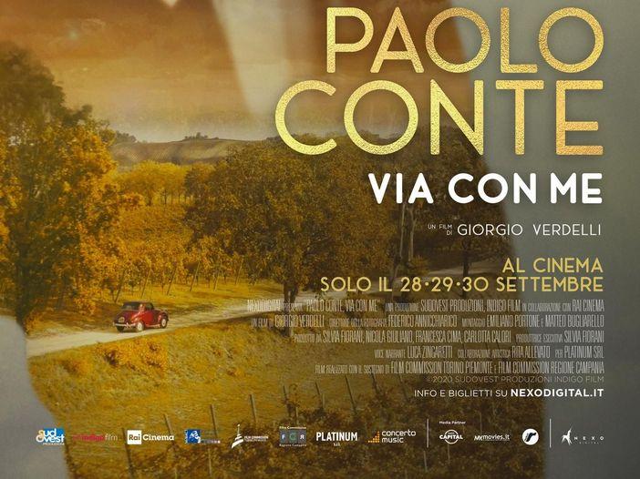 """""""Paolo Conte ti porta via, è un pittore di canzoni"""""""