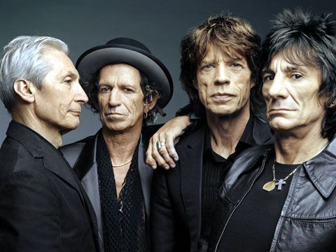 The Rolling Stones are recording in Paris