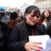 Flash Mob David Bowie - Roma