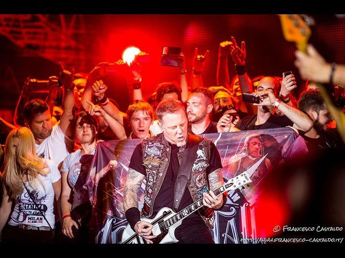 """Metallica, dal vivo """"The shortest straw"""" dopo oltre quattro anni - VIDEO"""