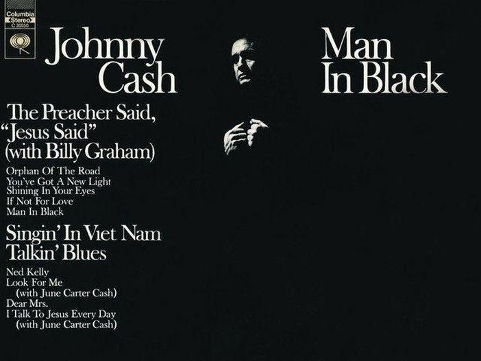 'Man in black', la dichiarazione di intenti di Johnny Cash