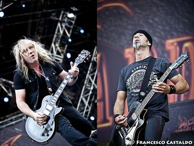 23 giugno 2012 - Gods of Metal 2012 - Arena Concerti Fiera - Rho (Mi) - Gotthard in concerto