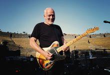 David Gilmour e la moglie Polly Samson all'Hay Festival