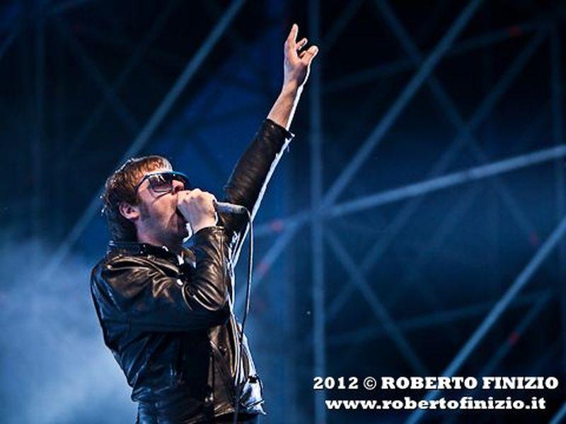 19 luglio 2012 - City Sound Festival - Ippodromo del Galoppo - Milano - Kasabian in concerto