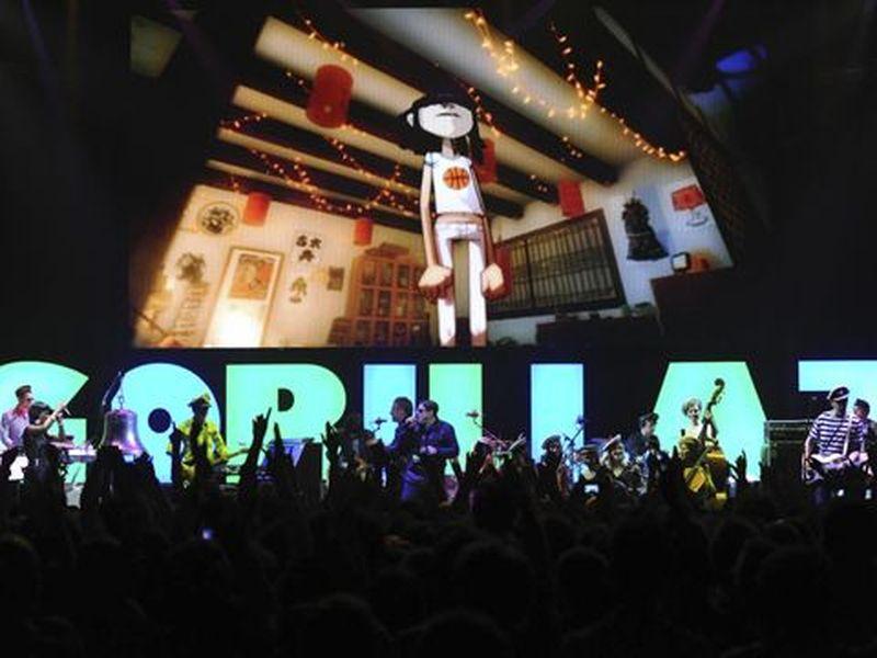 29 Aprile 2010 - Roundhouse - Londra - Gorillaz in concerto