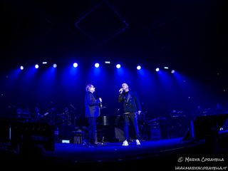 24 gennaio 2020 - Palazzo dello Sport - Roma - Gigi D'Alessio e Nino D'Angelo in concerto