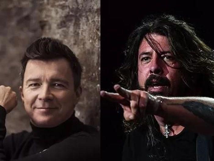 Rick Astley, sul Web una cover di 'Everlong' dei Foo Fighters: ascolta