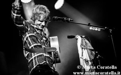 26 gennaio 2015 - PalaLottomatica - Roma - Ed Sheeran in concerto