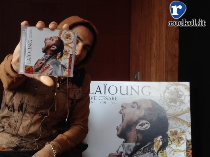 Laïoung presenta 'Ave cesare - veni, vidi, vici': 'Un disco ispirato al mercato americano, ma in lingua italiana' - VIDEOINTERVISTA