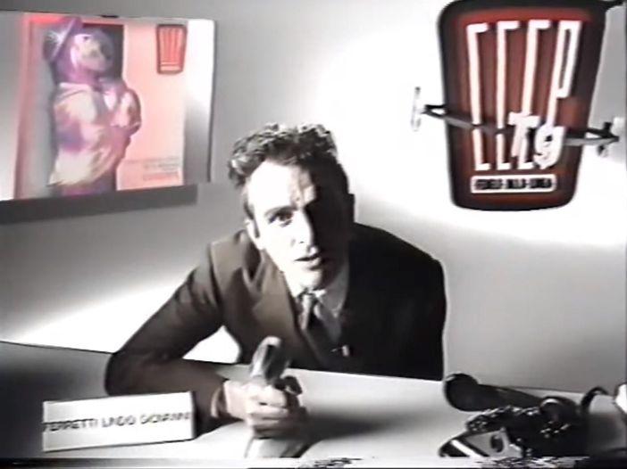 I geniali spot TV dei CCCP nel 1989. Video