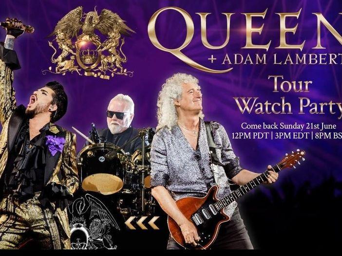 Queen, guarda qui il Tour Watch Party