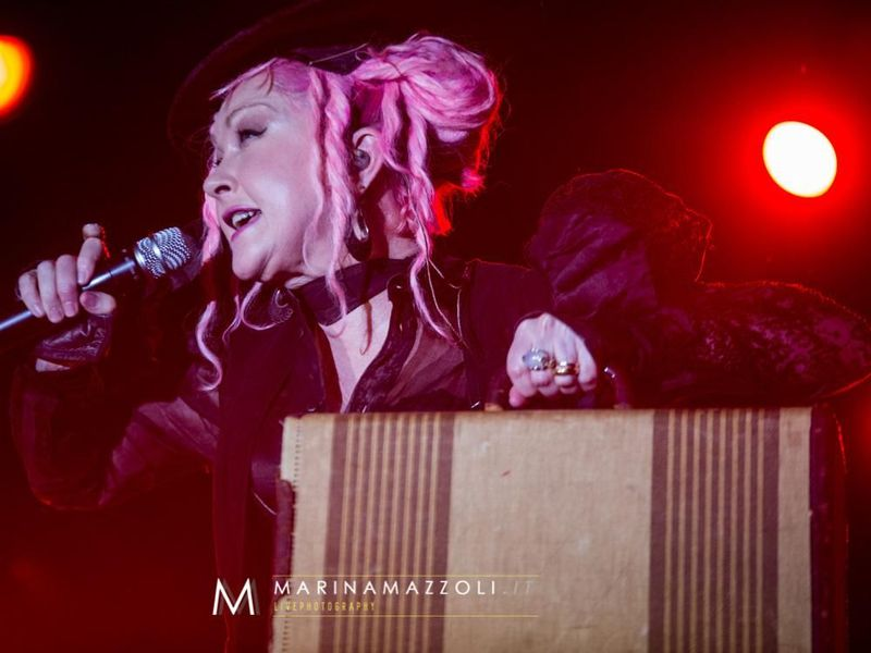 7 luglio 2016 - GruVillage - Grugliasco (To) - Cyndi Lauper in concerto