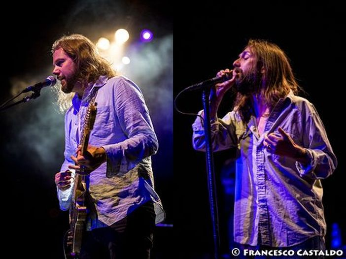 Rissa da bar, ammaccato Chris dei Black Crowes