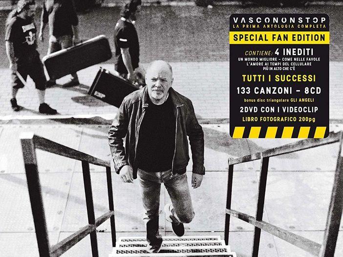 Vasco Rossi, le tracklist di tutte le versioni della raccolta 'Vasco Non Stop'