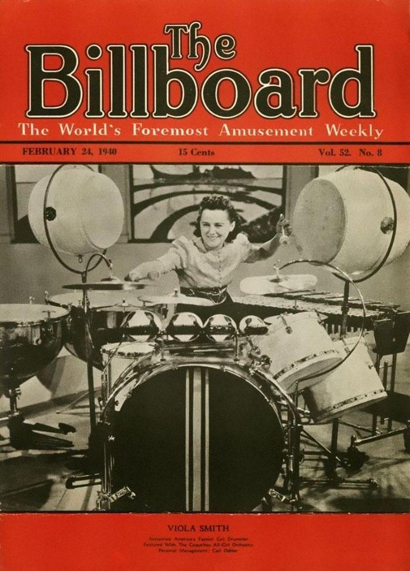 L'incredibile storia della batterista Viola Smith, morta a 107 anni