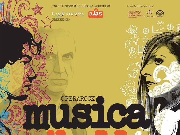 """Debutta a teatro """"Musica ribelle"""" opera rock ispirata a Eugenio Finardi"""