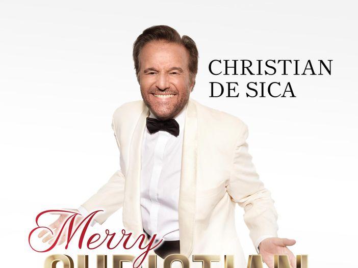 "Christian De Sica: esce la raccolta natalizia ""Merry Christian"" - TRACKLIST/COPERTINA"