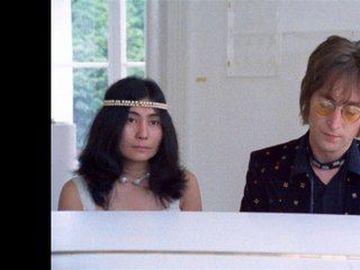 """John Lennon & Yoko Ono - """"Imagine"""", un video in anteprima dal film (al cinema l'8, 9 e 10 ottobre)"""