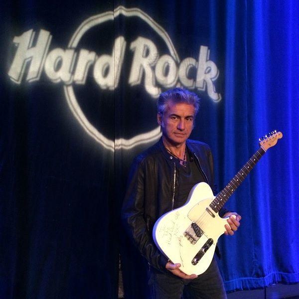 Luciano Ligabue Hard Rock Café
