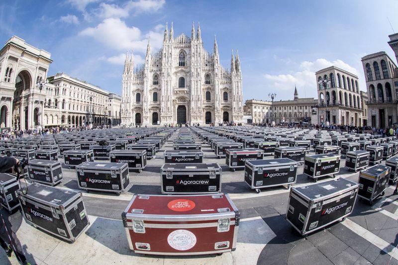 Bauli in Piazza: il 17 aprile a Roma in Piazza del Popolo