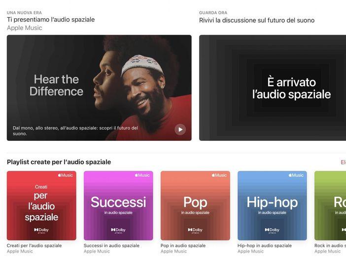 Spatial Audio: come funziona e come suona il nuovo sistema di Apple Music