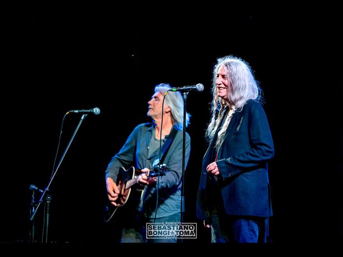 Patti Smith ritira il Polar Music Prize