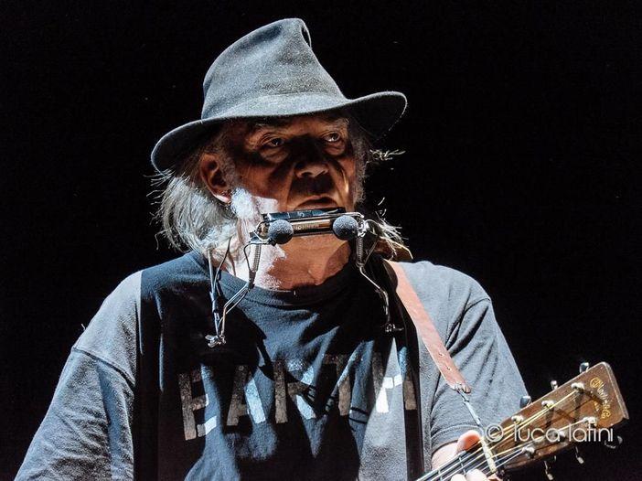 Neil Young: aperto l'immenso archivio online con tutte le sue canzoni